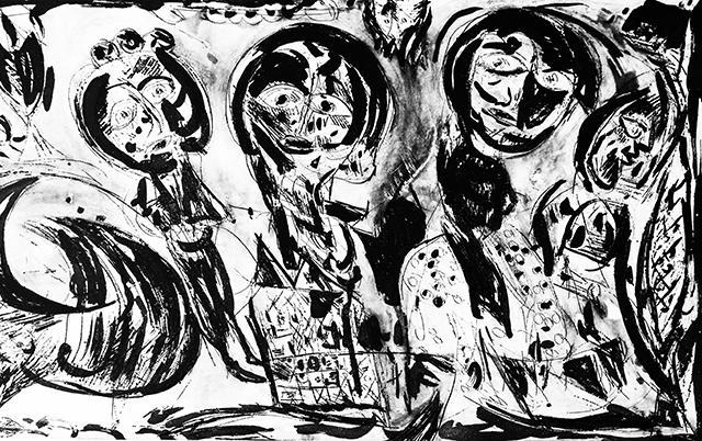 Carl-Henning Pedersen - Le Grand Meat 1991